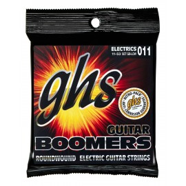 Ghs Boomers Low Tuned 11-53 Low Tune Nickel Electric Guitar Strings GB-LOW