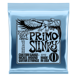 Ernie Ball Primo Slinky 095-44 Nickel Electric Guitar Strings 2212