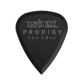 Ernie Ball Prodigy Standard Picks - 1.5mm P09199 - 6 pack (black)