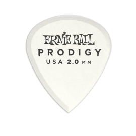 Ernie Ball Prodigy Mini Picks - 2.0mm P09203 - 6 pack (white)