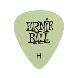 Ernie Ball Super Glow (in the dark) Picks - Heavy P09226 - 12 pack