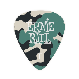 Ernie Ball Camouflage Picks - Thin P09221 - 12 pack