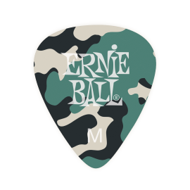 Ernie Ball Camouflage Picks - Medium P09222 - 12 pack