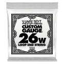 Ernie Ball Single 026w Banjo, Mandolin or Dulcimer Loop End Wound Steel String P01326