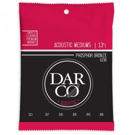 Darco by Martin 13-56 Medium Phosphor Bronze Acoustic Guitar Strings D230