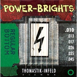 Thomastik-Infeld Power-Brights Regular Bottom 10-45 Magnecore Alloy Electric Guitar Strings PB110