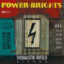 Thomastik-Infeld Power-Brights Regular Bottom 11-46 Magnecore Alloy Electric Guitar Strings PB111