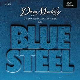 Dean Markley Blue Steel 45-100 Light Cryogenic Activated S/Steel Bass Strings 2672