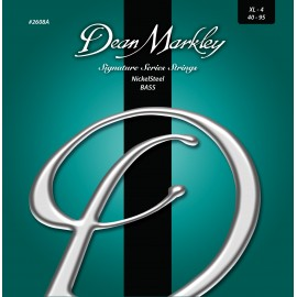 Dean Markley Signature NickelSteel 40-95 Ex-Light Nickel Plated Bass Strings 2608A