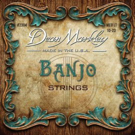 Dean Markley 5 String 10-24/10 Light Banjo Strings 2304