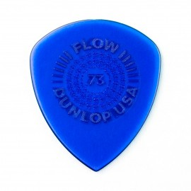 Dunlop Flow Grip Standard Guitar Pick - .73mm 549P073 - 6 pack (blue)