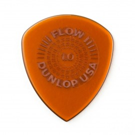 Dunlop Flow Grip Standard Guitar Pick - 1.00mm 549P100 - 6 pack (orange)