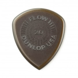 Dunlop Flow Grip Standard Guitar Pick - 2.00mm 549P200 - 6 pack (bronze)
