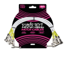 "Ernie Ball 3 Pack White 12"" Patch Cables P06055"