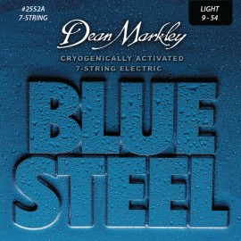 Dean Markley 7 String Blue Steel 09-54 Light Nickel Electric Guitar Strings 2552A