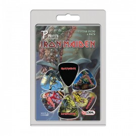 Perri's Iron Maiden 1 Collection 6 Pack Guitar Picks