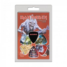 Perri's Iron Maiden 2 Collection 6 Pack Guitar Picks