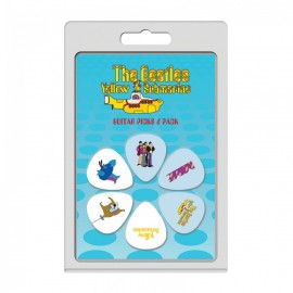 Perri's The Beatles Yellow Submarine 6 Pack Guitar Picks