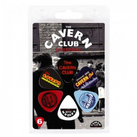 The Cavern Club Logos 6 Pack Guitar Picks