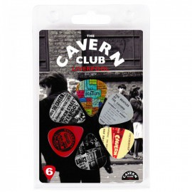 The Cavern Club Moments 6 Pack Guitar Picks