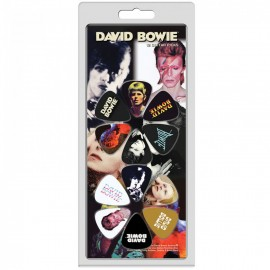 Perri's David Bowie Collection 12 Pack Guitar Picks
