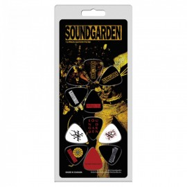 Perri's Soundgarden Collection 12 Pack Guitar Picks