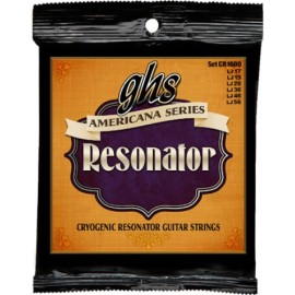 Ghs Americana Series 17-56 Cryogenically Treated Resonator Guitar Strings CR1600