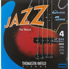 Thomastik Jazz Swing 43-100 Long Scale Flatwound Bass Guitar Strings JF344