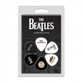 Perri's The Beatles Albums One 6 Pack Guitar Picks