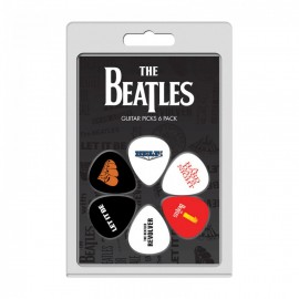 Perri's The Beatles Albums Two 6 Pack Guitar Picks
