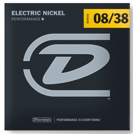 Dunlop Performance + 08-38 Super Light Nickel Electric Guitar Strings DEN0838
