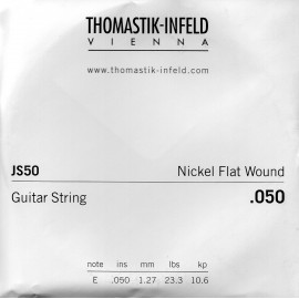 Thomastik-Infeld Single Jazz Swing Flat Wound .050 Nickel Electric Guitar String JS50