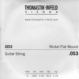 Thomastik-Infeld Single Jazz Swing Flat Wound .053 Nickel Electric Guitar String JS53