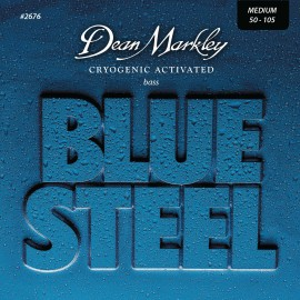 Dean Markley Blue Steel 50-105 Medium Cryogenic Activated S/Steel Bass Strings 2676