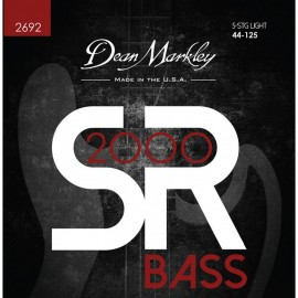 Dean Markley 5 String SR2000 High Performance 44-125 Light Compound Wound Bass Strings 2692