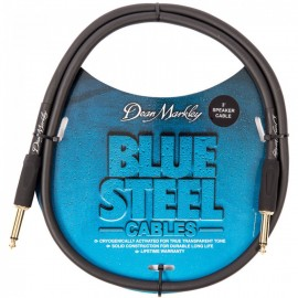 Dean Markley Blue Woven 3ft Cryogenically Treated Speaker Cable