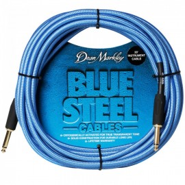 Dean Markley Blue Steel Woven 20ft Cryogenically Treated Instrument Cable DMBSIN20S