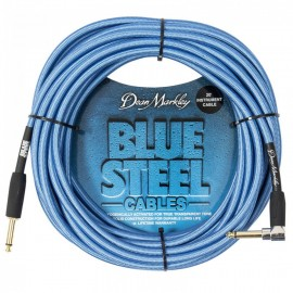 Dean Markley Blue Steel Woven 20ft Cryogenically Treated Instrument Cable DMBSIN20R