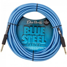 Dean Markley Blue Steel Woven 30ft Cryogenically Treated Instrument Cable DMBSIN30S