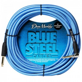 Dean Markley Blue Steel Woven 30ft Cryogenically Treated Instrument Cable DMBSIN30R