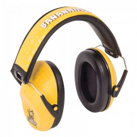 Thunderplugs Banana Muffs 25 Decibels Reduction. Ideal for Kids.