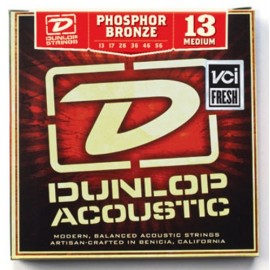Dunlop Acoustic Phosphor Bronze 13-56 Medium Acoustic Guitar Strings DAP1356