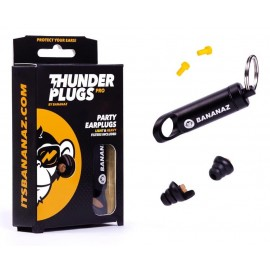 Thunderplugs Pro Earplugs 26 Decibels Reduction Including Aluminium Carry Case TPR01