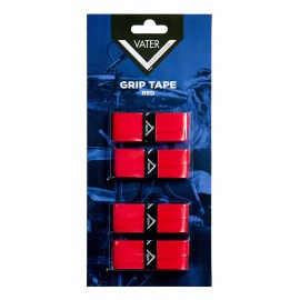 Vater Red Reusable Grip Tape for Drumsticks - 4 Grips VGTR
