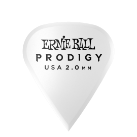 Ernie Ball Prodigy Sharp Picks - 2.0mm P09341 - 6 pack (white)