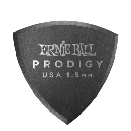 Ernie Ball Prodigy Shield Picks - 1.5mm P09331 - 6 pack (black)