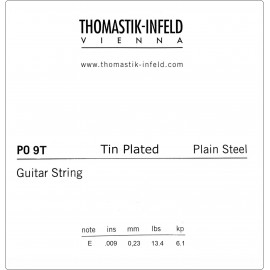 Thomastik-Infeld Plain Steel Tin Plated .009 Single Electric Guitar String P09T