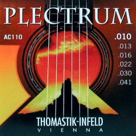 Thomastik-Infeld Plectrum 10-41 Extra Light Acoustic Guitar Strings AC110