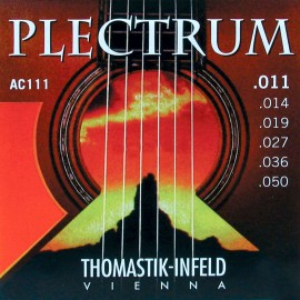 Thomastik-Infeld Plectrum 11-50 Light Acoustic Guitar Strings AC111