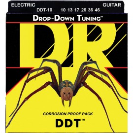 Dr Handmade DDT Drop-Down Tuning 10-46 Medium Electric Guitar Strings DDT-10